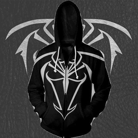 UNLIMITED SYMBIOTE SPIDER-MAN- ZIP UP HOODIE - 3D HOODIE - Hoodielovers