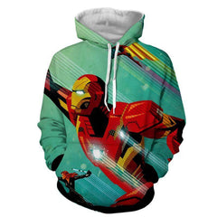 Iron Man & Black Widow 3D Printed Hoodie - Hoodielovers