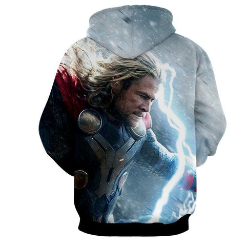 Thor Hoodies - 3D Printed Hoodie - Thor Power Defence - Hoodielovers