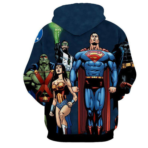 Justice League Heros Grace 3D Printed Hoodie - Hoodielovers
