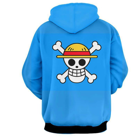 ZORO LAW SANJI 3D Hoodie - Jacket - One Piece - Hoodielovers