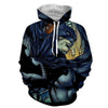 Image of Pseudo Batman 3D Hoodie - Jacket - Hoodielovers