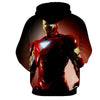 Image of Iron Man Black 3D Printed Hoodie - Hoodielovers