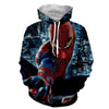 Image of Spiderman Action Night 3D Hoodie - Jacket - Hoodielovers