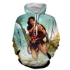 Image of Wonder Women in Wild 3D Hoodies - Wonder Women Clothing - Jacket - Hoodielovers