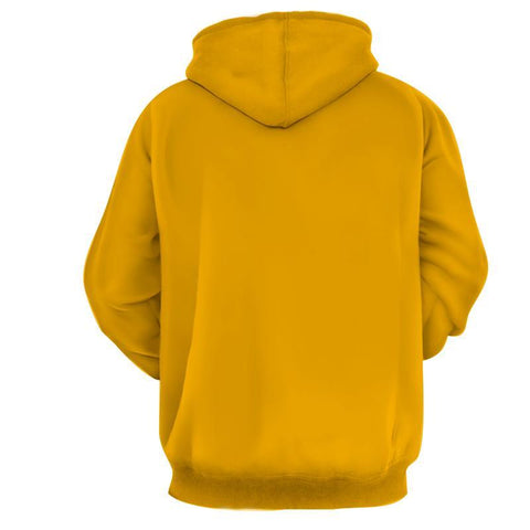 Flash 3D Printed Yellow Hoodie - The Flash Jacket - Star Lab Hoodie - Hoodielovers