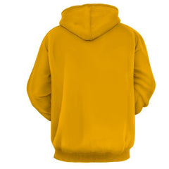 Flash 3D Printed Yellow Hoodie - The Flash Jacket - Star Lab Hoodie