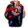 Image of Superman Comic 3D hoodie - Hoodielovers