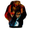 Image of Flash In Action 3D Printed Hoodie - The Flash Jacket - Star Lab Hoodie - Hoodielovers