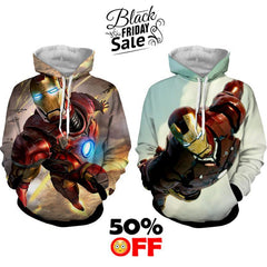BLACK FRIDAY DEAL #27 - Iron Man 2 Hoodies Bundle - Hoodielovers