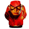 Image of Flash 3D Printed Hoodie - The Flash Jacket - Star Lab Hoodie - Hoodielovers