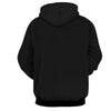 Image of Dragon Ball Z Hoodie - Black Fusions Earring Hoodie - Hoodielovers