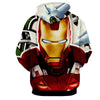 Image of Angry Iron Man 3D Printed Hoodie - Hoodielovers