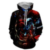 Image of Deadpool 3D Hoodie - Deadpool Jacket - Deadpool Clothing - Hoodielovers