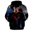 Image of STARRING MAN OF STEEL 3D HOODIE - Hoodielovers