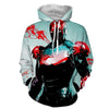 Image of Iron Man Color Splash 3D Printed Hoodie - Hoodielovers