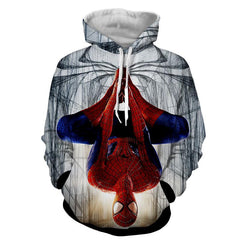 Hanged Spiderman 3D Hoodie - Jacket - Hoodielovers