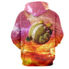 Image of Dragon Ball Super Hoodie - Popo Planet 3D Hoodie - DBS Hoodie - Hoodielovers