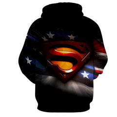 SUPERMAN STANDS FOR HOPE 3D HOODIE