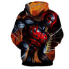 Image of Spiderman Hoodie - Spawn Action Hoodie - Spiderman Jacket - Hoodielovers
