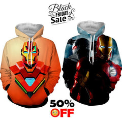 BLACK FRIDAY DEAL #28 - Iron Man 2 Hoodies Bundle - Hoodielovers