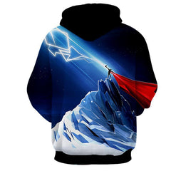Thor Hoodies - 3D Printed Hoodie - Thor Electric Power
