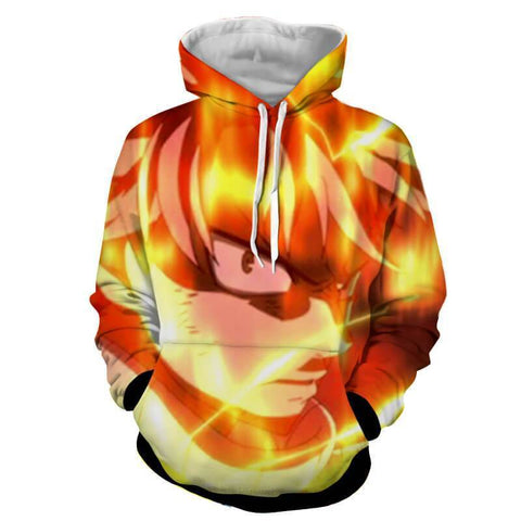 Natsu Dragon Mode Fairy Tail 3D Hoodies - Hoodielovers