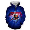 Image of Flying Super Man 3D Hoodie - Hoodielovers