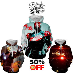 BLACK FRIDAY DEAL #23 - Iron Man 3 Hoodies Bundle - Hoodielovers