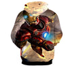 Image of Flying Iron Man 3D Printed Hoodie - Hoodielovers
