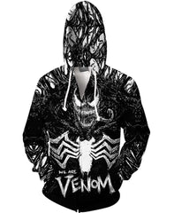 We Are Venom 3D Hoodie-Jacket
