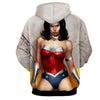 Image of Comic Wonder Women 3D Hoodies - Wonder Women Clothing - Jacket - Hoodielovers
