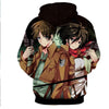 Image of Levi Ackerman & Mikasa Ackermann Hoodie- Attack On Titan 3D Hoodie - JACKET - Hoodielovers
