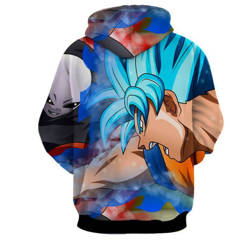Goku Vs Jiren 3D Hoodie - Jacket - Dragon Ball Super Hoodie - Hoodielovers