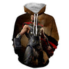 Image of Thor Hoodies - 3D Printed Hoodie - Thor - Hoodielovers