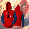 Image of Spiderman Zip up - Spiderman Homecoming Hoodie - Spiderman Jacket - Hoodielovers