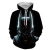 Image of Nudiustertian Batman 3D Hoodie - Jacket - Hoodielovers
