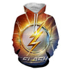 Image of Flash Sign 3D Printed Hoodie - The Flash Jacket - Star Lab Hoodie - Hoodielovers