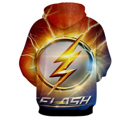 Flash Sign 3D Printed Hoodie - The Flash Jacket - Star Lab Hoodie