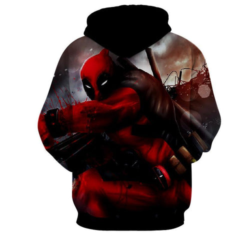 Deadpool Hoodie - Cool Deadpool Hoodie - Deadpool Jacket - Hoodielovers