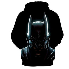 Nudiustertian Batman 3D Hoodie - Jacket