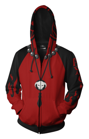 Portgas D. Ace Zip Up Hoodie - One piece Hoodies - Hoodielovers