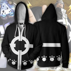 BARTHOLOMEW KUMA ZIP UP HOODIE - ONE PIECE JACKET - Hoodielovers
