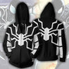 Image of Spiderman Hoodie - Spiderman Future Foundation Zip Up - Hoodielovers