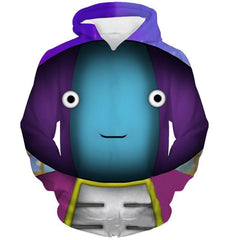 Dragon Ball Super Tournament Hoodie - Lord Zeno Chan 3D Hoodie - Hoodielovers