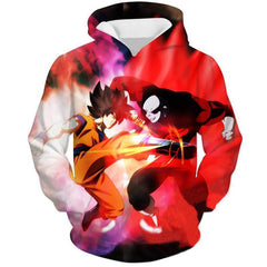 Dragon Ball Super Hoodie - Limit Breaker Goku VS Jiren Hoodie - DBS Hoodie - Hoodielovers