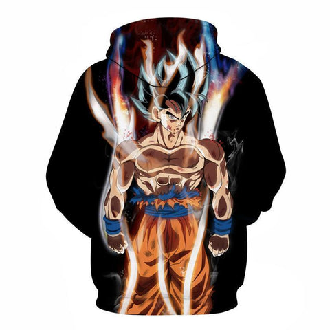 Dragon Ball Z Hoodie - Goku Limit Break Hoodie - Jacket - Hoodielovers