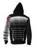 Image of Marvel Winter Soldier Zip-up Hoodie - Latest 3D Winter Soldier Hoodie - Hoodielovers