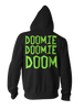 Image of Invader Doom Hoodie - Zim Doom Zip Up Jacket - Hoodielovers