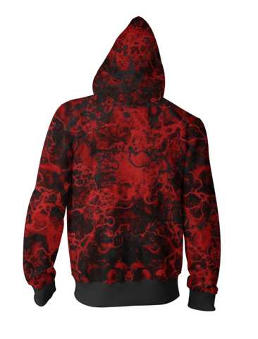 Spider Man Venom Zip-up Hoodie - Latest 3D Spider Man Hoodie - Hoodielovers